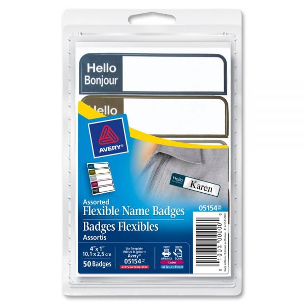 """Avery """"Hello My Name Is"""" Name Badge Labels"""