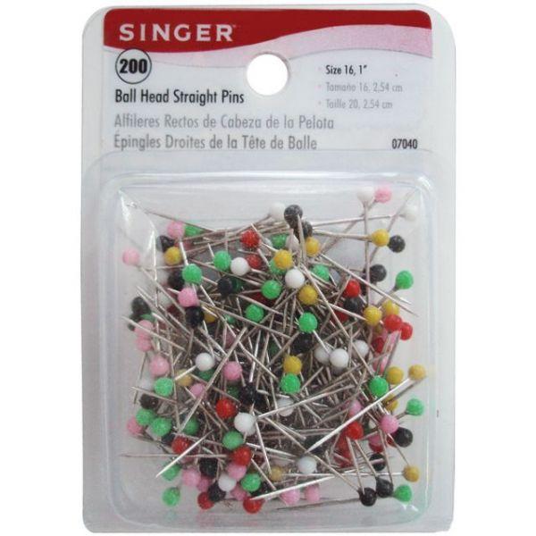 Ball Head Straight Pins