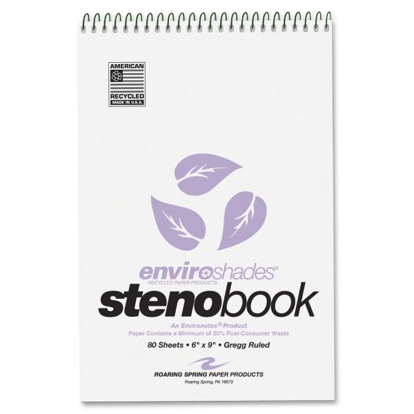 Enviroshades Perforated Steno Pads