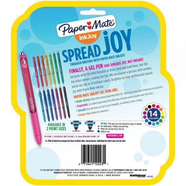 InkJoy Gel Pens .7mm 10/Pkg