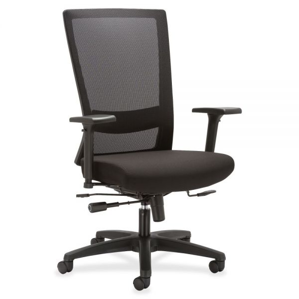 Lorell Mesh High-back Seat Slide Office Chair