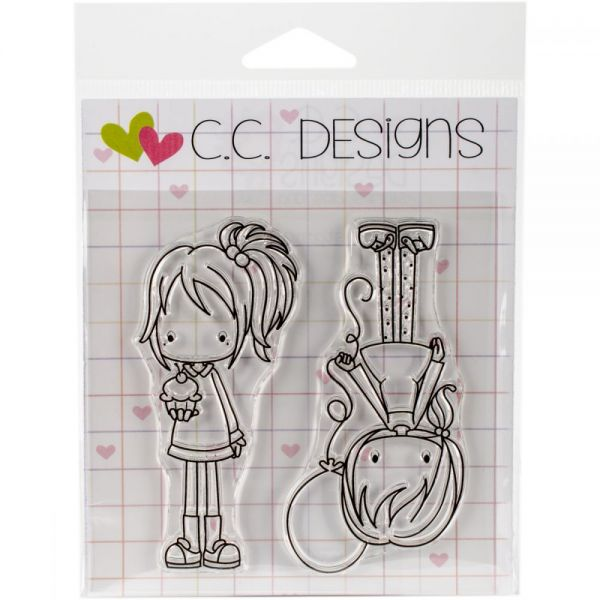 "Pinkies Clear Stamps 4""X4"""