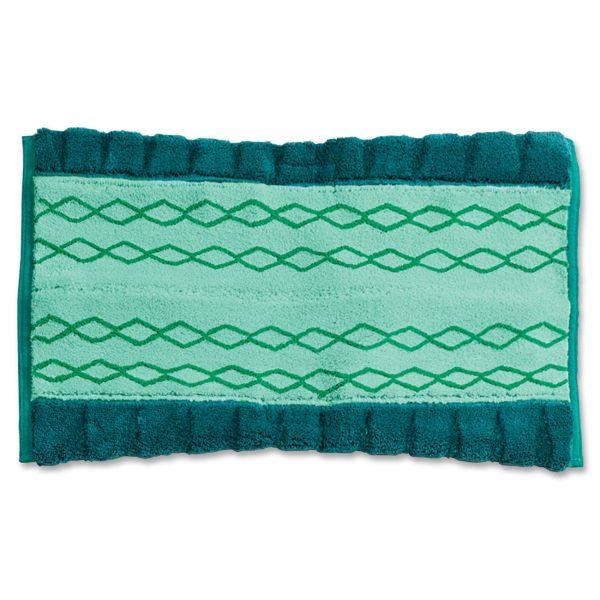 Rubbermaid Commercial HYGEN HYGEN Microfiber Dust Mop, Green, 6/Carton