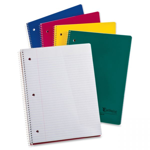 Earthwise Oxford Recycled College Ruled Spiral Notebook