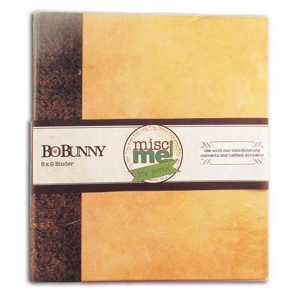"Misc Me Binder Life Journal 8""X9"""