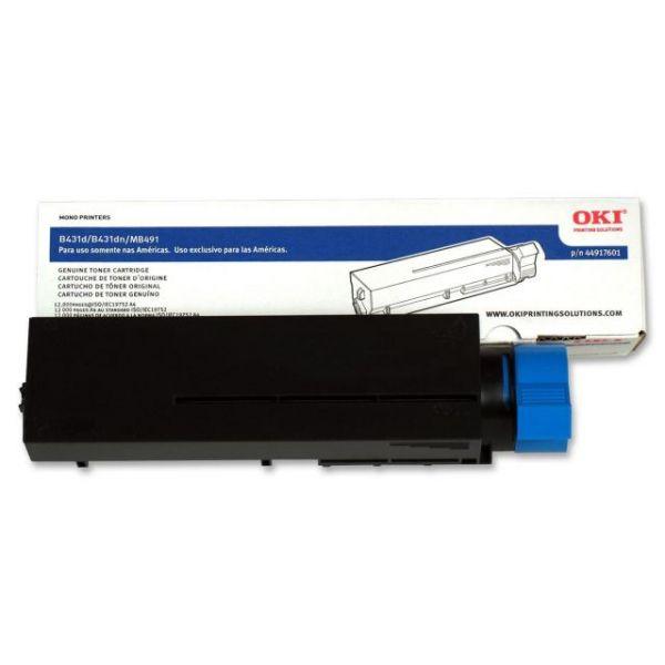 Oki Type B2 Black Toner Cartridge (44917601)