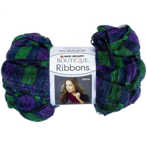 Red Heart Boutique Ribbons Yarn - Grapevine