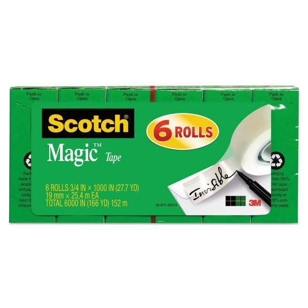"""Scotch 3/4"""" Magic Invisible Tape Refills"""