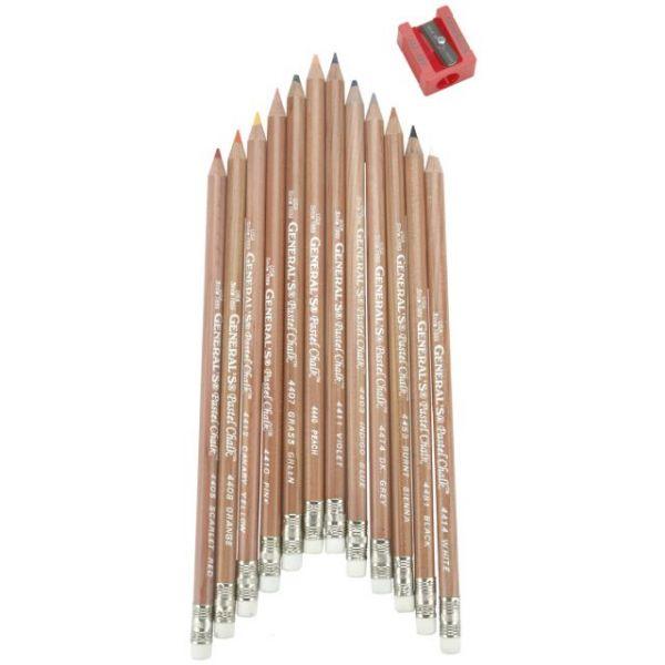 Multi Pastel Pencils