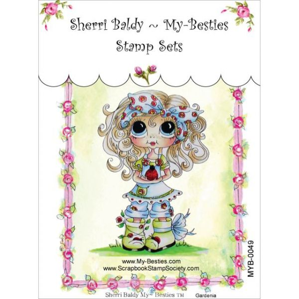 """My Besties Clear Stamps 4""""X6"""""""