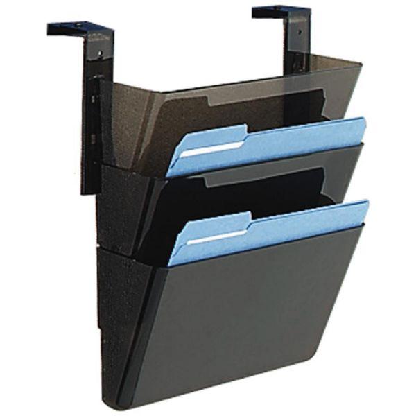 Deflect-o Three-Pocket Hanging Wall File Pockets