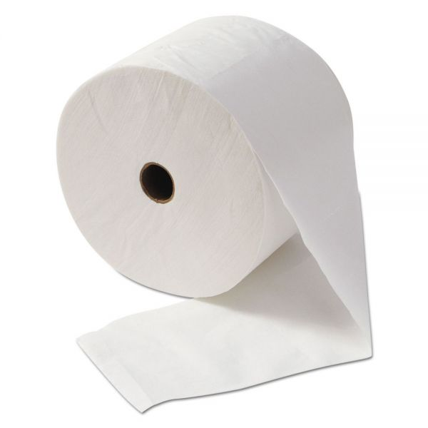 "Morcon Paper Morsoft Millennium Bath Tissue, 1-Ply, 3 7/8"" x 4 1/4"", 2000 Sheets/Roll, 24/CT"