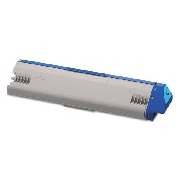 Oki 45536423 Cyan Toner Cartridge