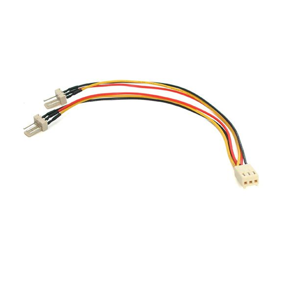 StarTech.com 6in TX3 Fan Power Splitter Cable