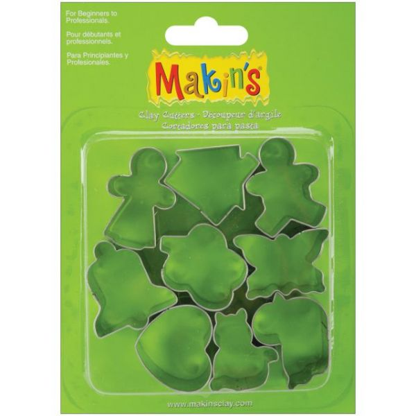 Makin's Clay Cutters 9/Pkg