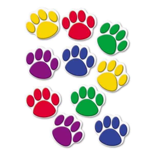 Teacher Created Resources Colorful Paw Print Accents