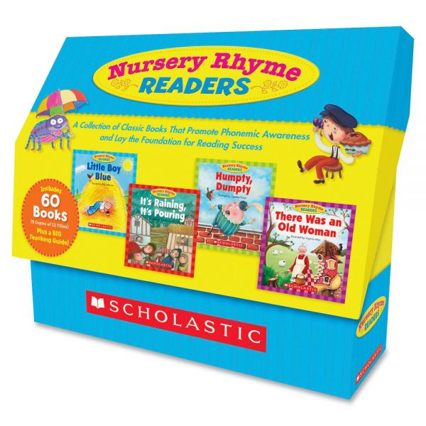 Scholastic Nursery Rhyme Readers Book Collection Education Printed Book - English