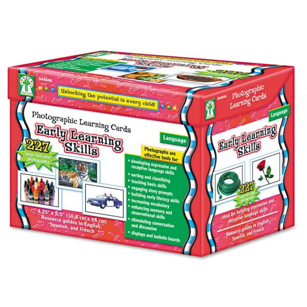 Early Learning Skills Learning Cards