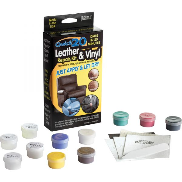 Master Caster ReStor-It Quick 20 Leather/Vinyl Repair Kit