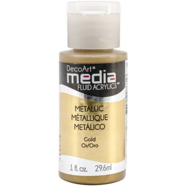 Deco Art Gold Media Fluid Acrylic