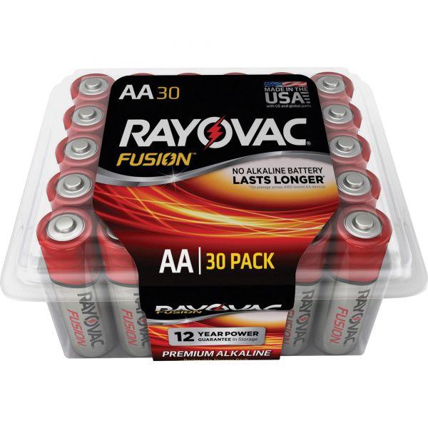 Rayovac Fusion Advanced Alkaline AA Batteries