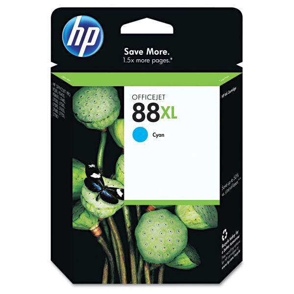 HP 88XL, (C9391AN) High Yield Cyan Original Ink Cartridge