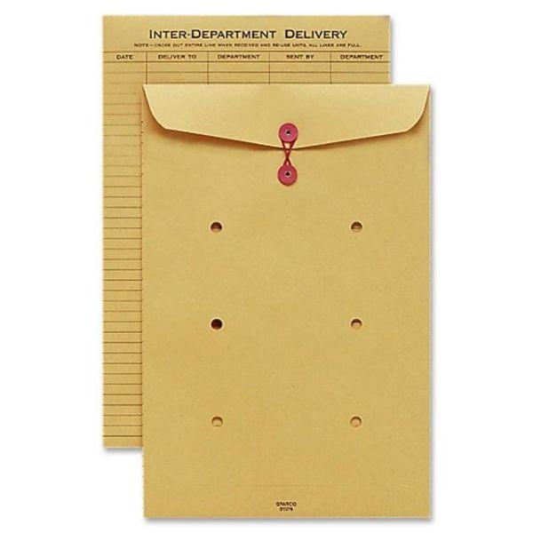 Sparco String & Button Close Inter-Dept.Envelopes