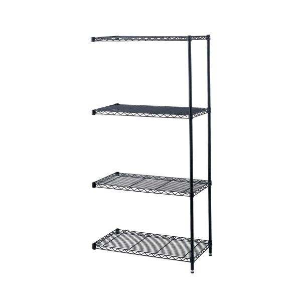Safco Industrial Wire Shelving Add-On Unit
