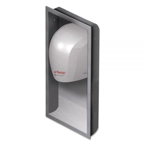 WORLD DRYER Airforce Hand Dryer Recess Kit