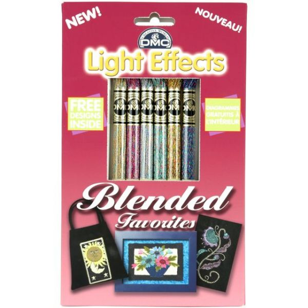 DMC Light Effects Floss Pack 8.7yd 6/Pkg