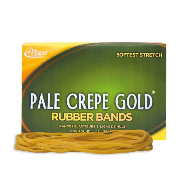 Pale Crepe Gold #117B Rubber Bands (1 lb)