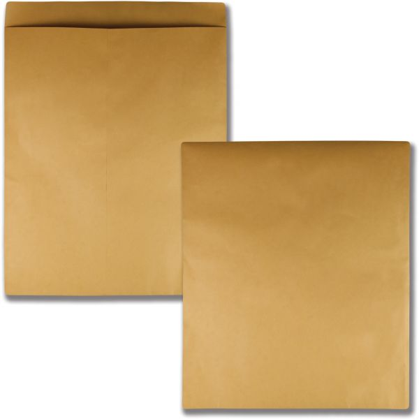Quality Park Jumbo Size Kraft Envelope, 22 x 27, Brown Kraft, 25/Pack