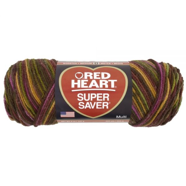 Red Heart Super Saver Yarn - Cherry Cola