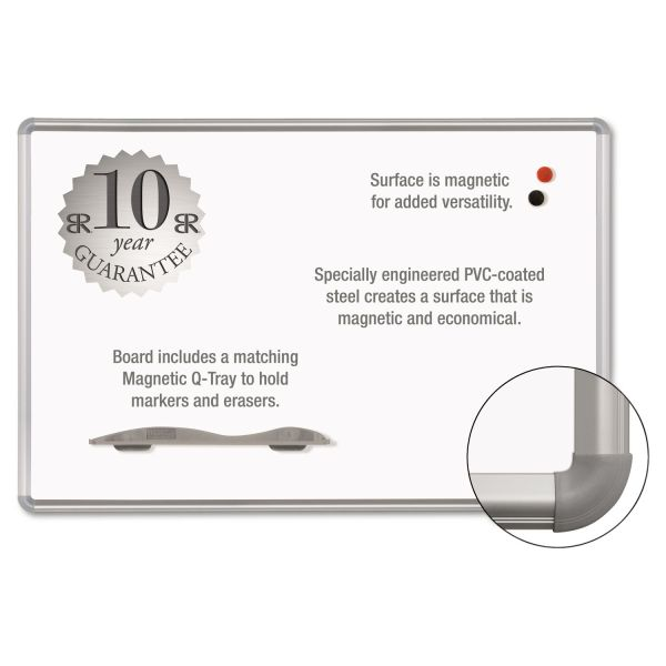 Magna Rite 8' x 4' Magnetic Dry Erase Board
