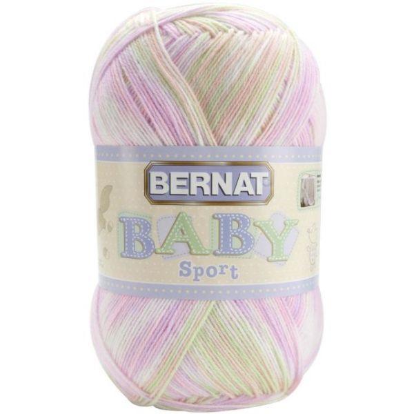 Bernat Baby Sport Big Ball Yarn - Tiny Tulips