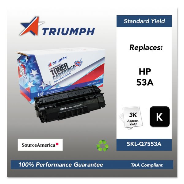 SKILCRAFT Remanufactured HP 53A Toner Cartridge