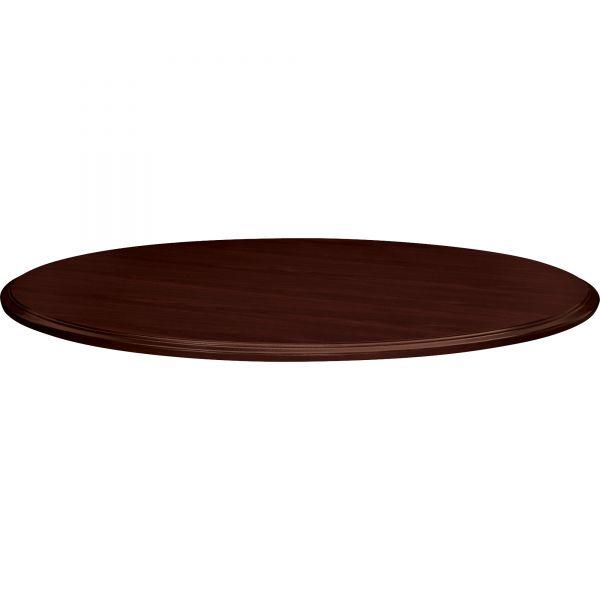 "HON 94000 Series Round Table Top, 48"" Diameter, Mahogany"