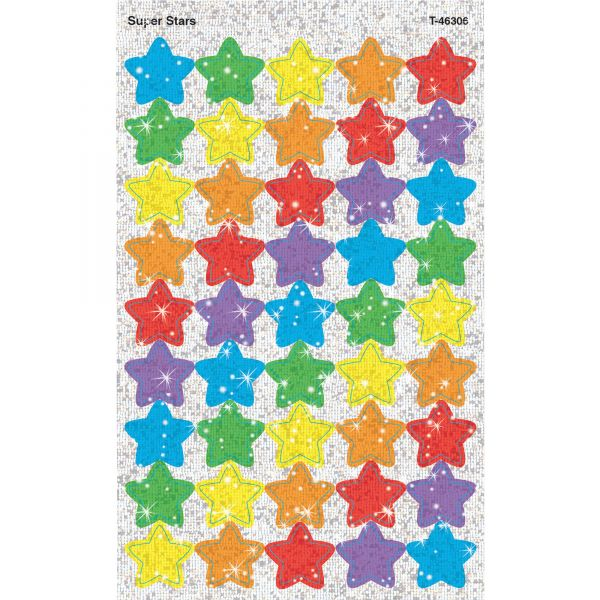 Trend Sparkle Super Stars superShapes Stickers