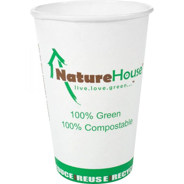 NatureHouse 10 oz Paper Coffee Cups