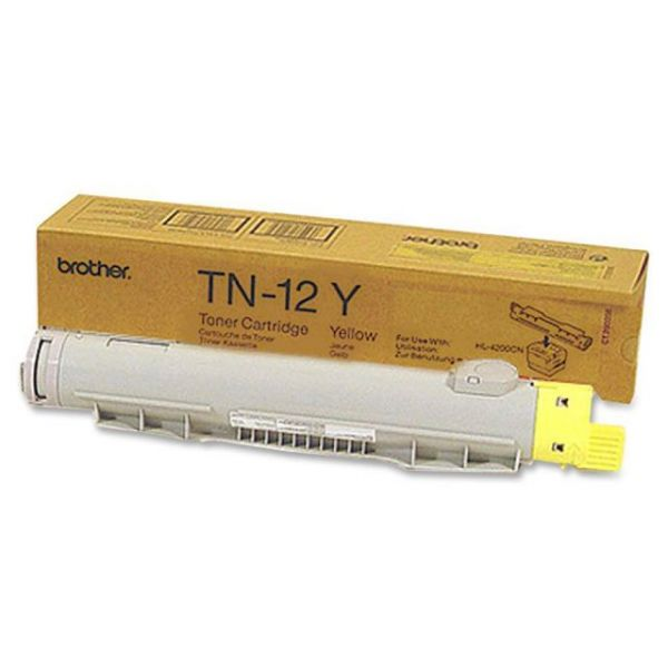 Brother TN12Y Yellow Toner Cartridge