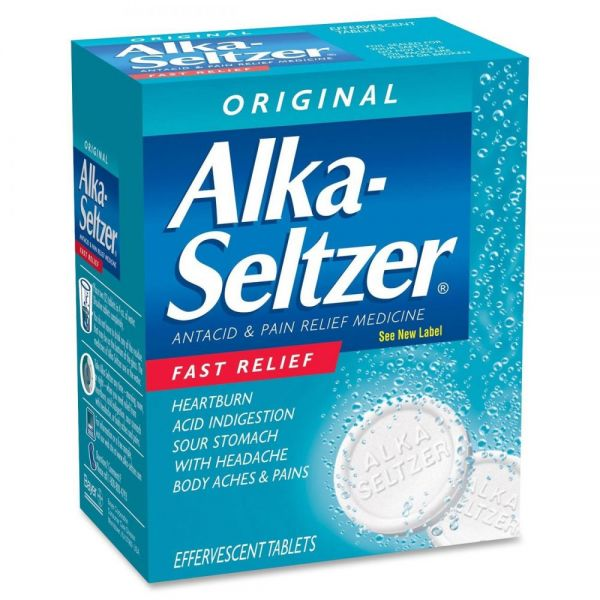 Acme United Alka-Seltzer Single Dose Packets