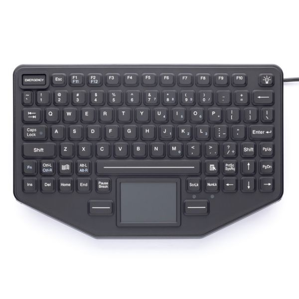 iKey Mountable Keyboard with Touchpad