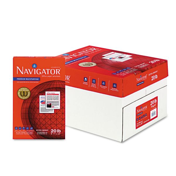 Navigator Premium Multi-Purpose White Copy Paper