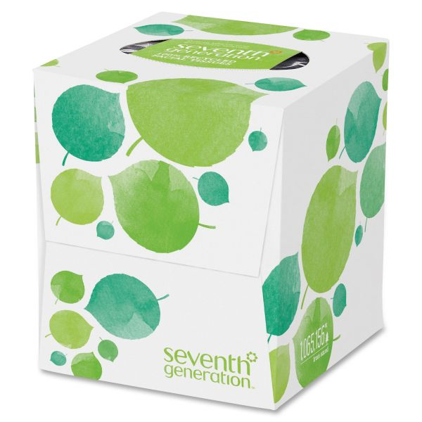 Seventh Generation 100% Recycled 2-Ply Facial Tissues