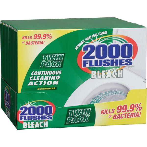 2000 Flushes Plus Bleach
