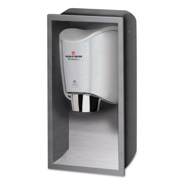 WORLD DRYER SMARTdri Hand Dryer Recess Kit