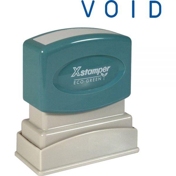 Xstamper VOID One Color Title Stamp