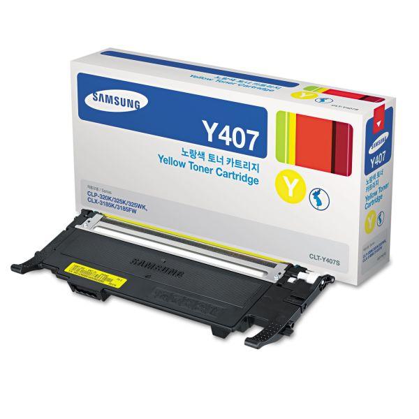 Samsung Y407 Yellow Toner Cratridge