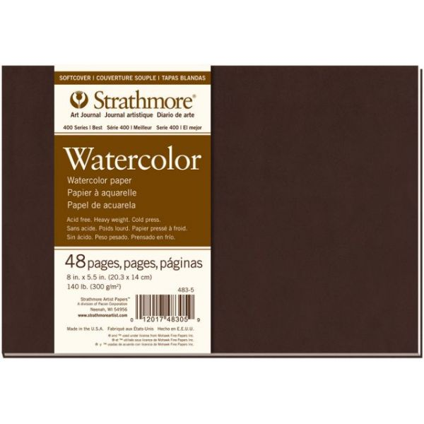 "Strathmore Softcover Watercolor Journal 8""X5.5"""