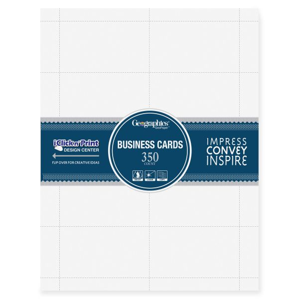 Geographics Business Cards